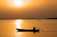 Fluss Krishna Lizenzfreies Stockbild