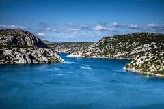 Fluss Krka-Mündung Lizenzfreies Stockbild