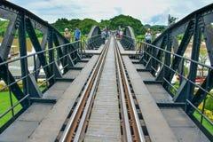 Fluss Kwai-Brücke im kanchanaburi, Thailand 5 Stockfotos
