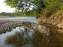 Fluss Laba Stockfotografie