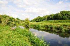 Fluss-Landschaft Lizenzfreies Stockfoto