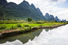 Fluss Li stockfotografie