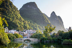 Fluss Li stockfotos