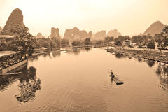 Fluss Li, China Stockfoto