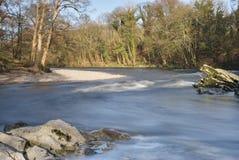 Fluss Lune bei Kirkby Lonsdale Lizenzfreies Stockfoto