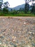 Fluss Manafwa am tödlichsten in der Regenzeit stockfoto