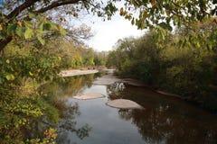 Fluss in Mark Twain National Forest Lizenzfreie Stockbilder