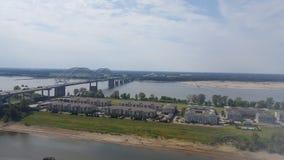 Fluss Memphis lizenzfreies stockfoto