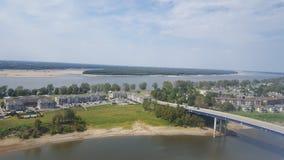 Fluss Memphis lizenzfreie stockbilder