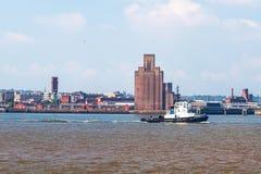 Fluss Mersey lizenzfreies stockbild
