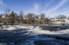 Fluss Mississipi, Almonte, Ontario, Kanada Lizenzfreies Stockfoto