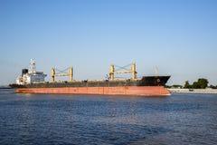 Fluss Mississipi-Frachtschiff Stockfoto