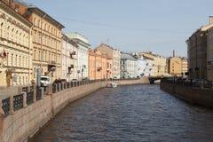 Fluss Mojka Lizenzfreies Stockbild