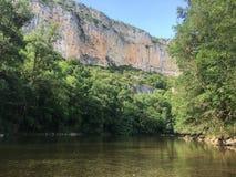 Fluss nahe bei Montauban u. x28; südlich des france& x29; lizenzfreie stockbilder