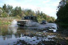 Fluss nicht für den Straßenverkehr Stockfotografie