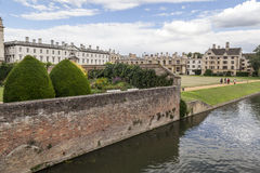 Fluss-Nocken Cambridge England Stockfotografie