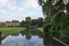 Fluss-Nocken England Lizenzfreies Stockbild
