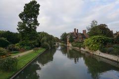 Fluss-Nocken England Lizenzfreie Stockfotos