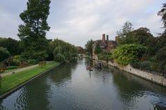Fluss-Nocken England Lizenzfreie Stockfotografie