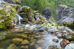 Fluss in Norwegen Lizenzfreies Stockbild
