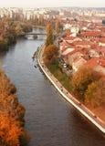 Fluss Oradea Crisul Repede Lizenzfreies Stockbild