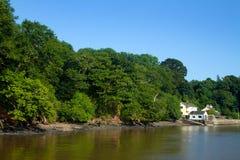 Fluss-Pfeil lizenzfreies stockbild