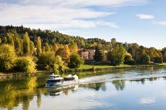 Fluss PO, Turin stockfoto