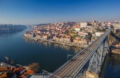 Fluss Porto Portugal Duero lizenzfreie stockfotografie
