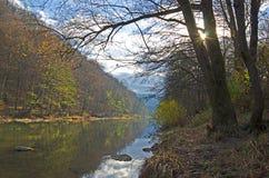 Fluss Psekups Stockfoto