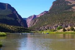 Fluss-Reise stockbilder