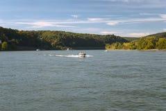 Fluss Rhein Stockbild