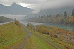 Fluss Rhein Stockfotografie