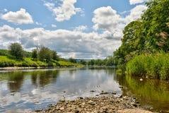 Fluss Ribble szenisch Lizenzfreies Stockbild