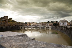 Fluss Rom Stockfoto