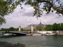 Fluss Seine Stockfotos