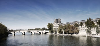 Fluss Seine Lizenzfreie Stockfotografie