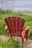 Fluss-Stühle Stockfoto
