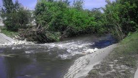 Fluss-Stadt Stockbilder