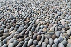 Fluss-Steinhintergrund Lizenzfreies Stockfoto