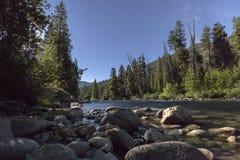 Fluss-Sterne Lizenzfreie Stockbilder