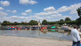 Fluss Stratford nach Avon Shakespeare Lizenzfreies Stockfoto