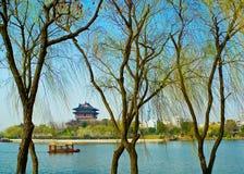 Fluss Taizhou Fengcheng Stockbild