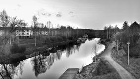 Fluss-Tapete Lizenzfreie Stockbilder