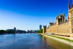 Fluss Themse Lizenzfreies Stockbild