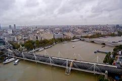 Fluss Themse Stockbild
