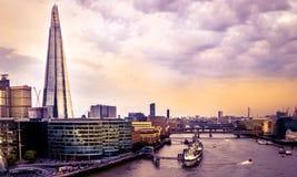 Fluss Themse Lizenzfreie Stockfotografie