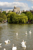 Fluss Themse bei Windsor Lizenzfreie Stockfotografie