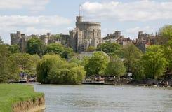 Fluss Themse bei Windsor, Berkshire stockfoto