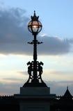 Fluss-Themse-Lampe. Stockfotografie