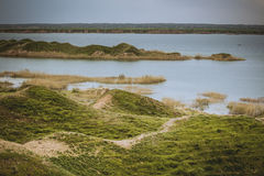 Fluss Tigris im Irak Lizenzfreies Stockbild
